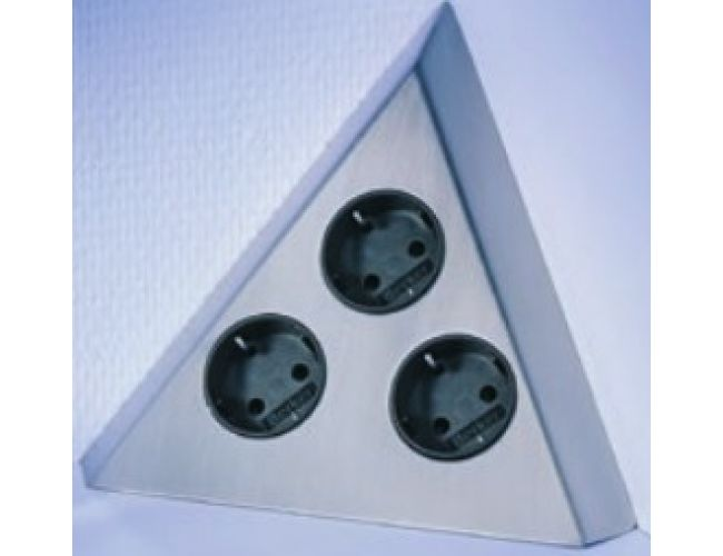 Enchufe de cocina CucineOggi ENERGY BOX Triangle -    IL 803 -   3  Enchufes.