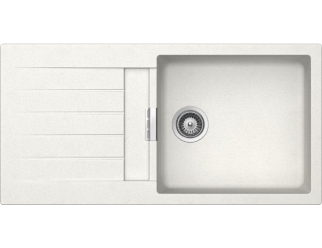 Fregadero de granito Luisina Luisigranit Scala EV 224011LC - 1000 x 500 mm - Color Alpina