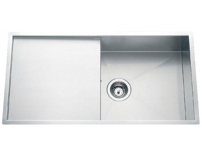 Fregadero de acero inoxidable bajo encimera Luisina Adagio EVSP5601 MIL - 850 x 440mm