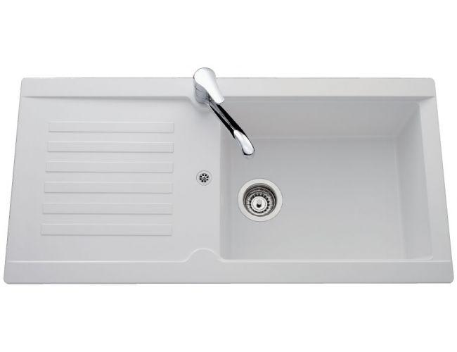 Fregadero de fibra Luisina Alto EV176 - 1000 x 500 mm