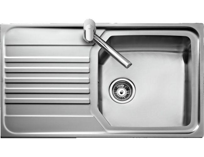 Fregadero de acero sobre encimera Teka Premium MAX 1C 1E - 860 x 500 mm