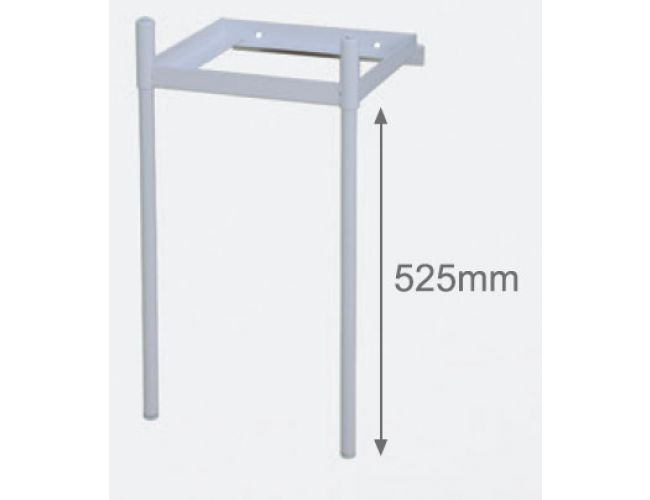 Soporte mueble para lavadero syan apolo altura 525mm for Lavadero metalico