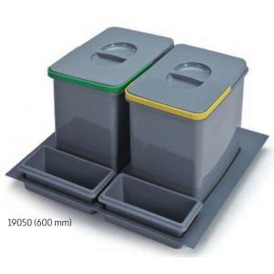 Sistema de Reciclaje - Cubos para gaveteros Serie 1 - 19050