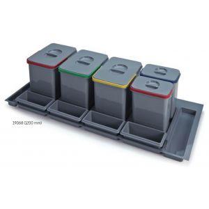 Sistema de Reciclaje - Cubos para gaveteros Serie 1 - 19068