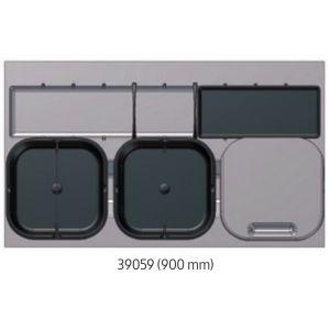 Sistema de Reciclaje - Cubos para gaveteros Serie 3 - 39059