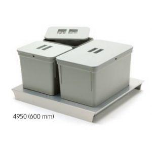 Sistema de Reciclaje - Cubos para gaveteros Serie 4 - 49050