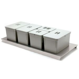 Sistema de Reciclaje - Cubos para gaveteros Serie 4 - 49068