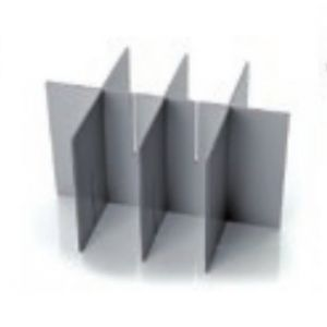 Sistema de almacenaje - División opcional para insertar en  cubeta Modular de 17 y 15 Litros  -  PV17DV