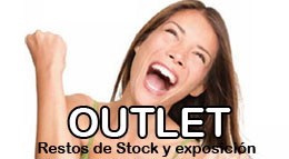 Productos en oferta Outlet