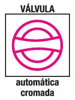 Valvula Automática cromada