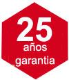Garantía Pyramis 25 años