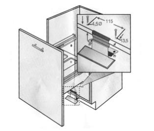 Accesorio para pull bajo fregadero - Pedal en inox.  PS100