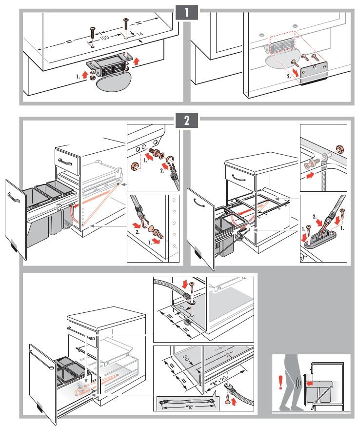 Instrucciones de montaje HA100