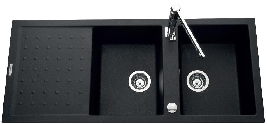 Fregadero Luisina Fusion EV6021 - Color Nera Metalizado