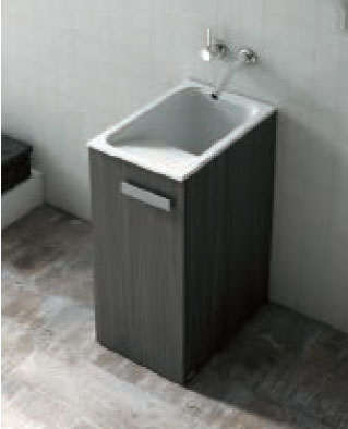 Mueble de madera exterior en kit para lavadero poalgi for Lavadero exterior