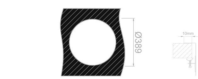 """Medida de corte Rodi """"Cubetas individuales"""" PIO MITHUS"""